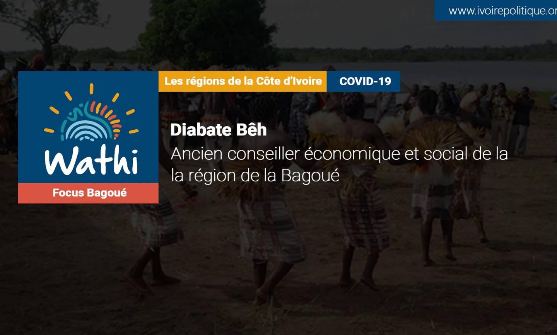 À Bagoué, la fermeture des frontières terrestres a eu un impact sur l'activité économique