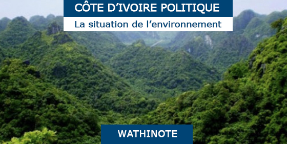 Côte d'Ivoire Post-Conflict Environmental Assessment, United Nations Environment Programme