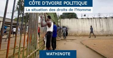 Côte d'Ivoire, réconciliation nationale : Où en sommes nous, Konrad Adenauer Stiftung, Action pour la Protection des Droits de l'Homme